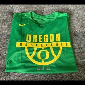 Nike Elite Oregon Ducks Basketball Dri-Fit Shirt